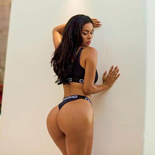 Sinwo Mujeres Chicas Sexy Empujar Arriba Lencería Vendaje De