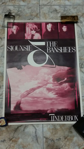siouxsie and the banshees pôster raro /joy division the cure