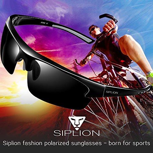 70e3e7aada Siplion Gafas De Sol Polarizadas Para Hombre Gafas Deport ...