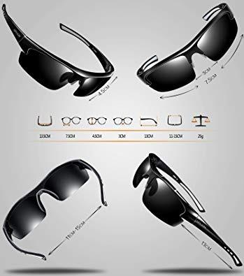 809d292c2b Siplion Gafas De Sol Polarizadas Para Hombre Gafas Deportiv ...