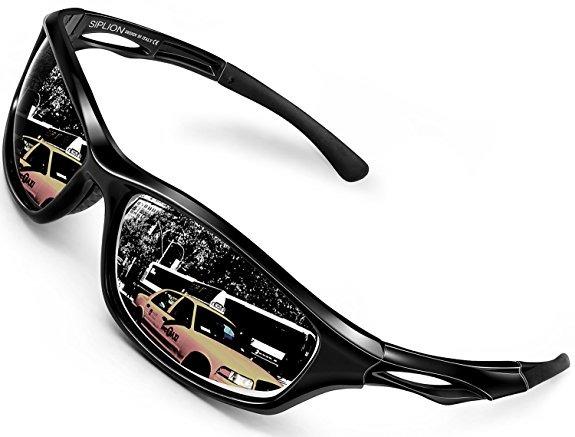 bfc7f9a454 Siplion Los Hombres De Las Gafas De Sol Polarizadas Deportes ...