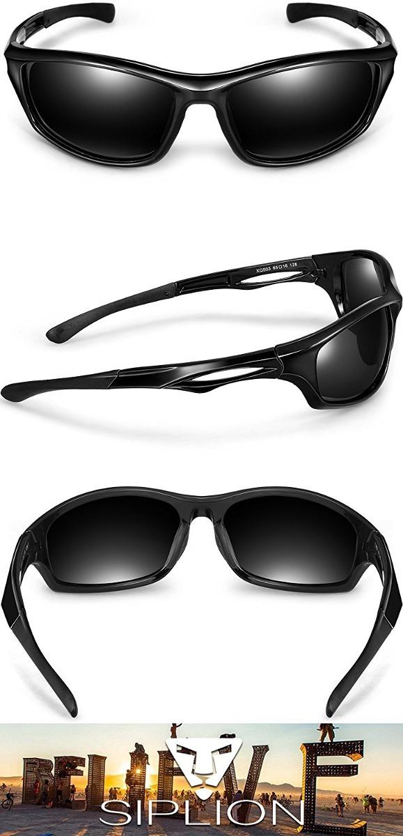 6076ae96c7 siplion los hombres de las gafas de sol polarizadas deportes. Cargando zoom.