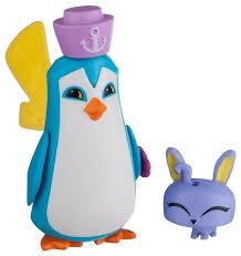 sir penguin & pet bunny  pinguino muñeco animal jam