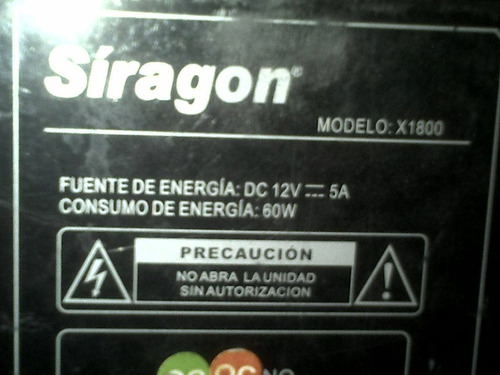 siragon x1800