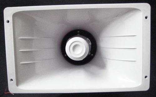 sirena 50w 28x17cm 6 tonos 12v la mas potente