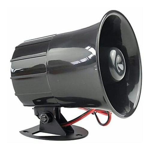 sirena 6 tonos para alarma, 12 voltios