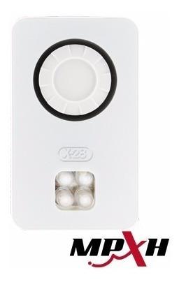 sirena alarma domiciliaria x-28 s16l-mpxh con luz emergencia