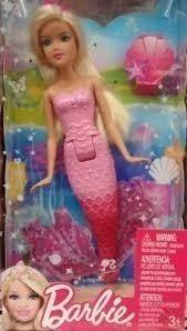 sirena barbie pequeñas!! son mini sirenas