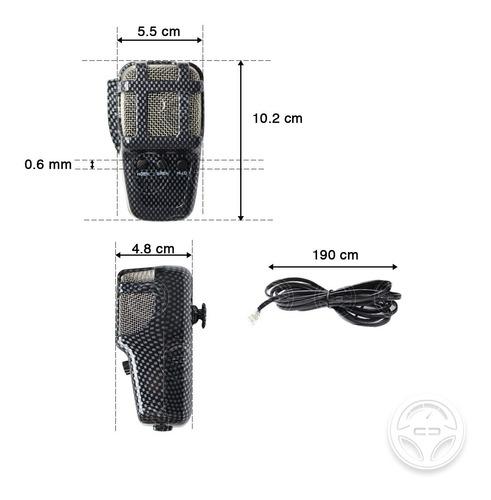 sirena cn altavoz patrulla 3 tonos pato 50w micro federal f1