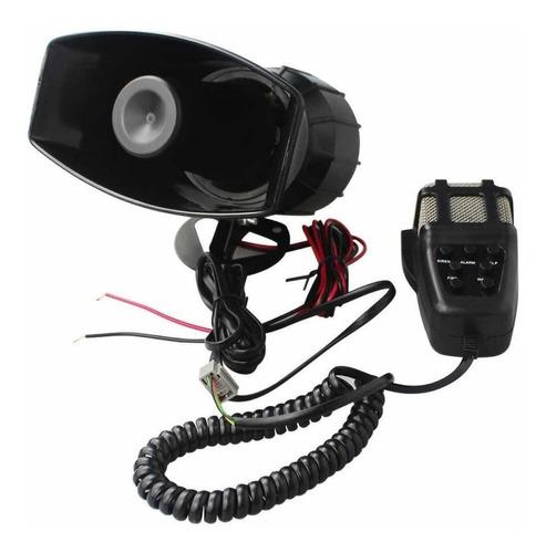sirena de policía bomberos megafono altavoz 12v envío gratis