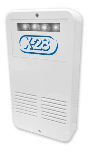sirena exterior alarma domiciliaria x-28 s62alf flash 108db