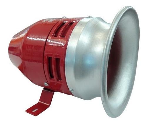 sirena metalica 110v alarma comunitaria a prueba de agua