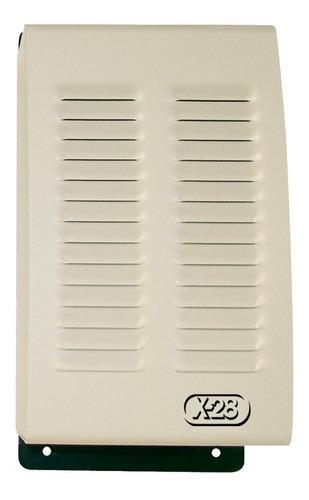 sirena metálica exterior alarma domiciliaria casa x28 s42a