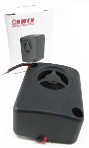 sirena piezoelectrica 12v 10w 105db