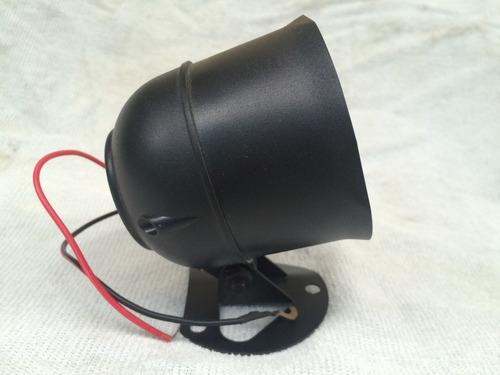 sirena universal para alarma 6 tonos