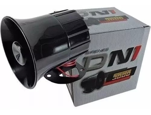 sirene corneta para alarme residencial moto carro forte 120d
