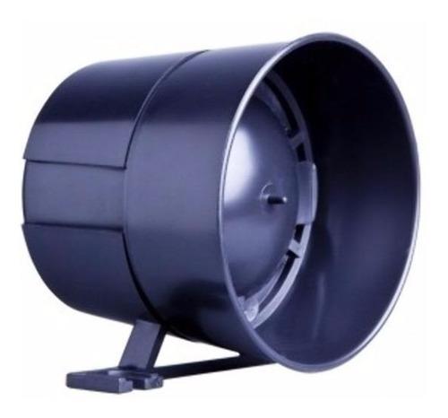 sirene de alta potência bitonal para alarmes morey
