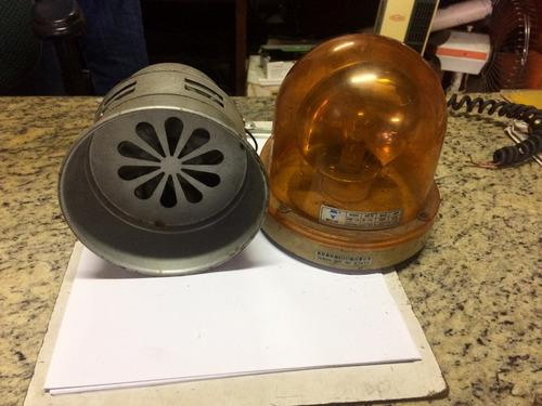 sirene e girofleex 12v