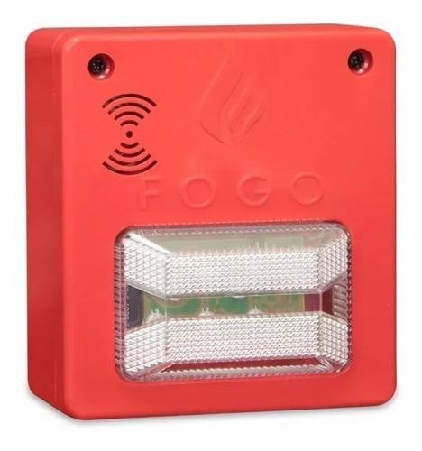 sirene sinalizador audio visual alarme de incêndio central