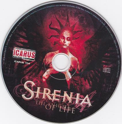 sirenia - the enigma of life ( cd )