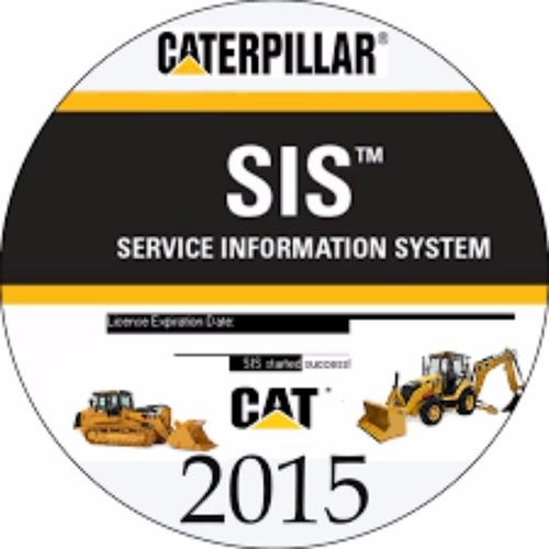 sis caterpillar 2015 y et instalación vía remota