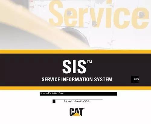 sis caterpillar 2017 - software de información de servicio.