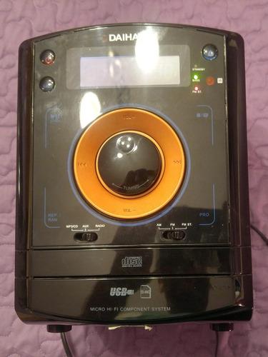 sist. de audio micro hifi daihatsu con control remoto