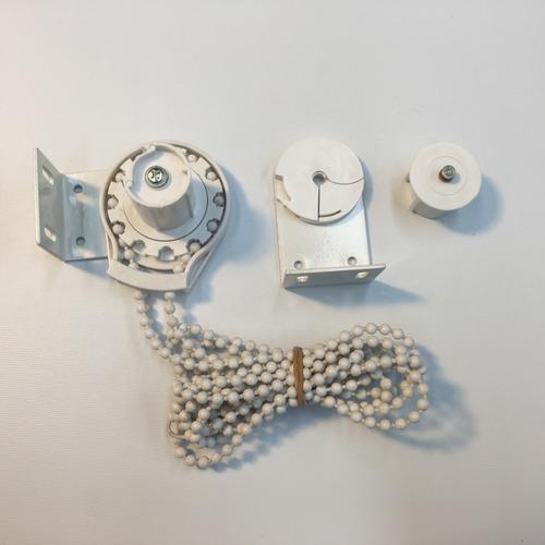 sistema 28 mm cortina roller con cadena plástica