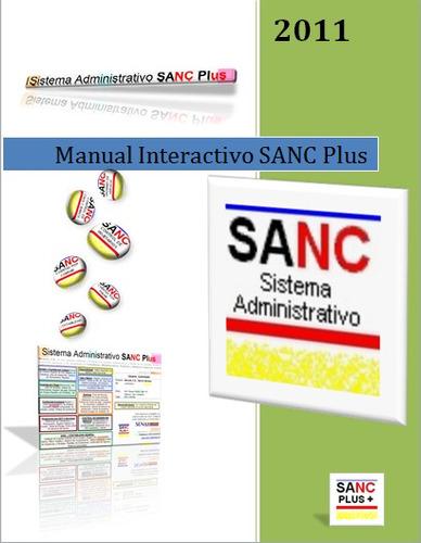 sistema administrativo sanc plus - cuentas por pagar