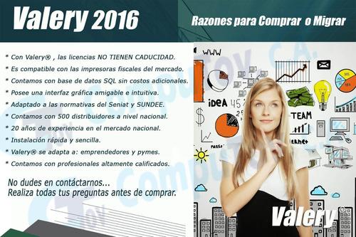 sistema administrativo valery 2018