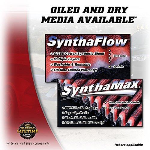sistema admisión airaid 511-301 con filtro seco synthamax