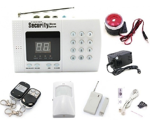 sistema alarma de seguridad inalambrica casas oficina local