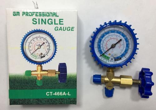 sistema analizador simple r-12/22/502/134a cuerpo de bronce