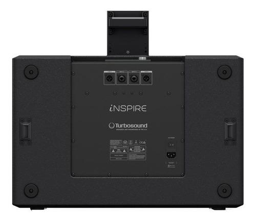 sistema ativo compacto ip3000 2000w 2x12 sub turbosound