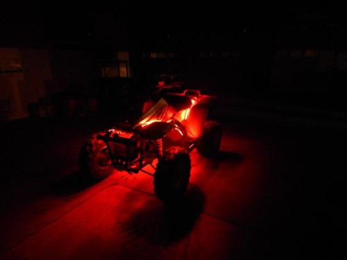 sistema atmosférico luces led con control para moto/auto