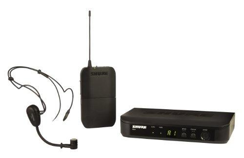 sistema auriculares sin hilos shure blx14 / pg30 con micróf