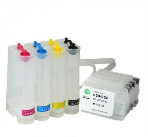 sistema c/ tinta pigmentada hp 950 951 pro 8100 8600 c/ chip
