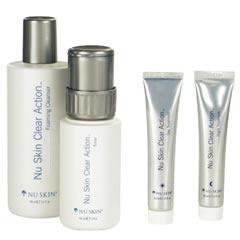 sistema clear action acne completo original nuskin ven 04/18
