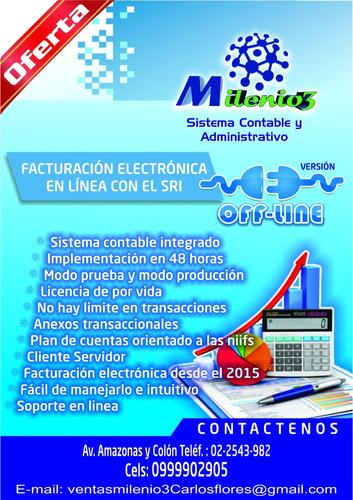 sistema contable y facturacion electronica milenio3