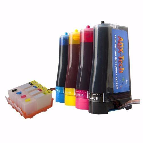 sistema continuo aqx-tech para hp 5525 4625 670 con tinta