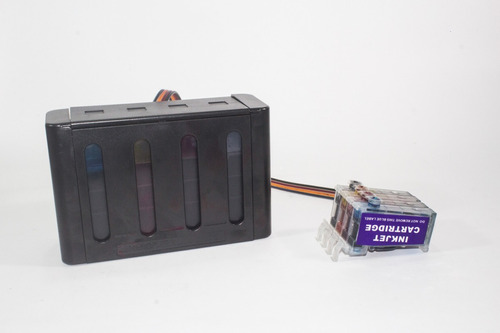 sistema continuo caja lujo epson xp 201 211 401 411+tinta