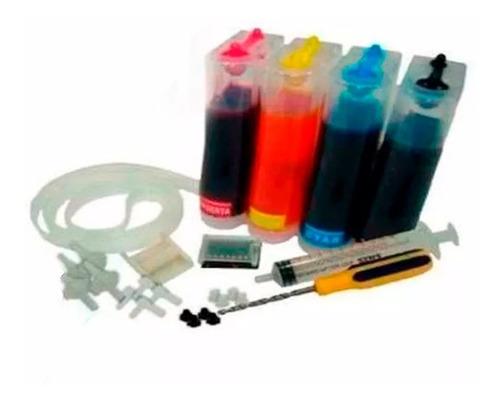 sistema continuo creaprint para hp full tinta envio gratis