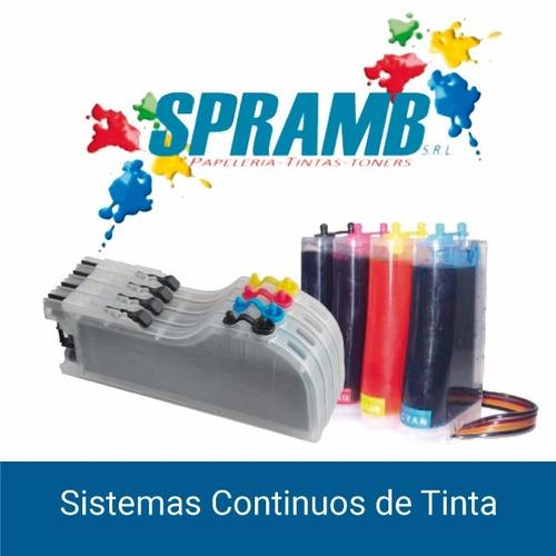 sistema continuo de tinta para toda impresoras