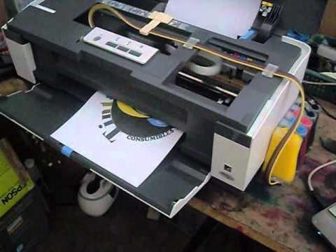 sistema continuo de tintas para epson t-1110
