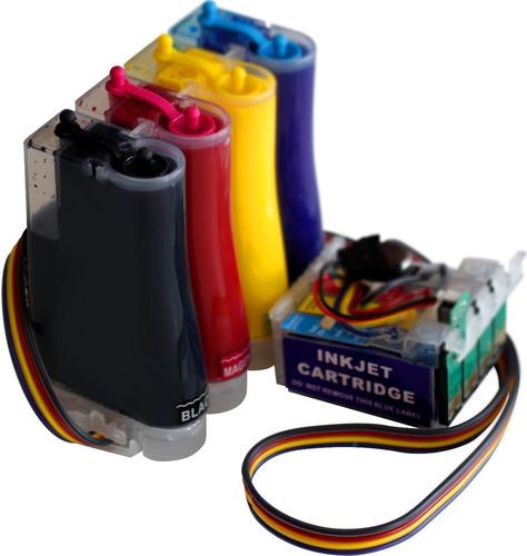 sistema continuo epson xp 101 201 204 211 214 401 full tinta