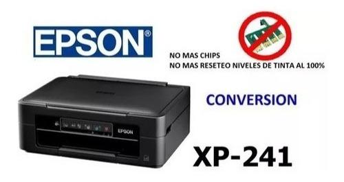 sistema continuo epson xp241 , xp 231