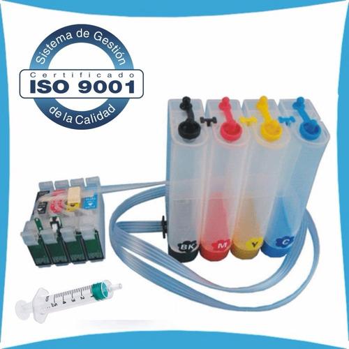 sistema continuo epson xp320- xp420 - wf2630 cartuchos 220