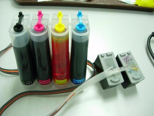 sistema continuo  hp canon + tintas pigmentadas