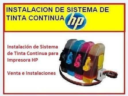 sistema continuo hp instalaciones