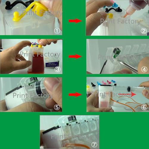 sistema continuo para impresoras epson stylus t0691 - 694